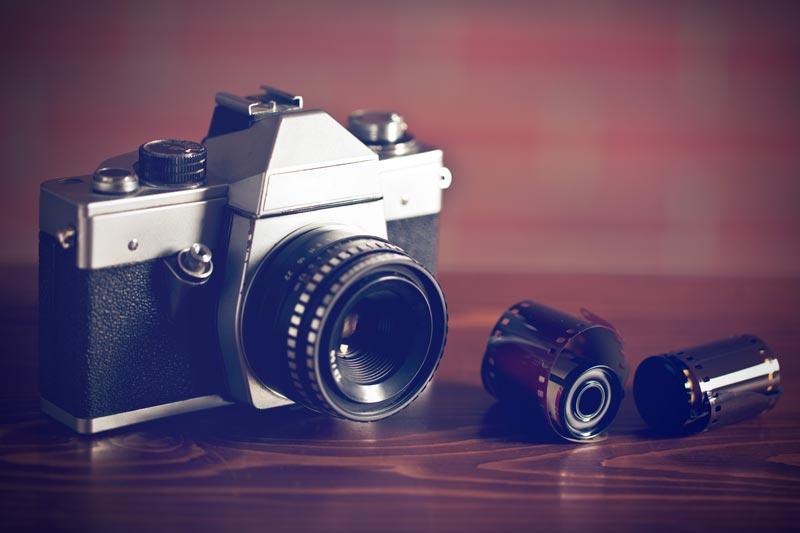 macchina fotografica usata