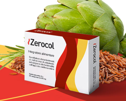 Zerocol integratore regola colesterolo