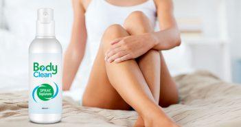 body clean spray depilatorio
