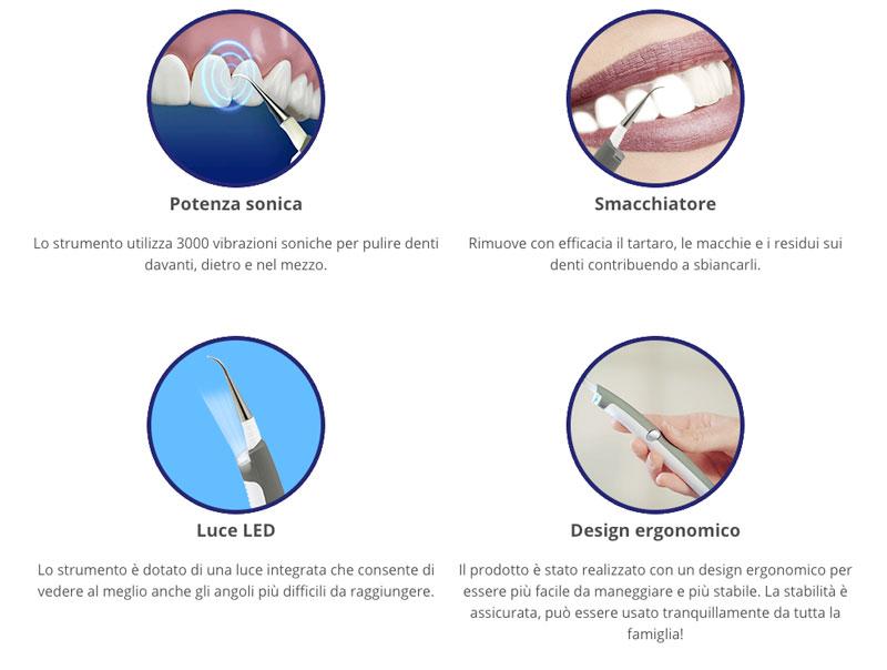 dentapulse funzioni