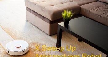 x sweep up robot aspirapolvere