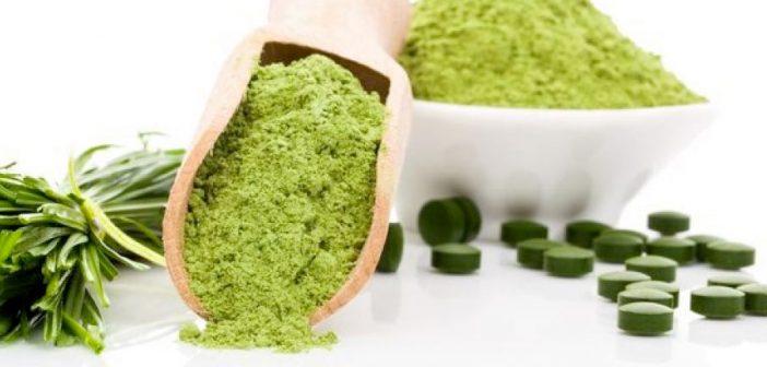integratori a base di alga spirulina
